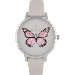"""Zegarek kwarcowy """"Animal"""" w kolorze jasnoszaro-srebrno-złotym. Szare, analogowe zegarki damskie Stylowe zegarki, złote. W wyprzedaży za 139,95 zł."""