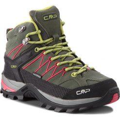Trekkingi CMP - Rigel Mid Wmn Trekking Shoes Wp 3Q12946 Kaki/Corallo 65BN. Zielone buty trekkingowe damskie CMP. W wyprzedaży za 279,00 zł.