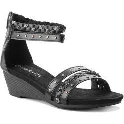 Sandały damskie: Sandały VIA RAVIA – WS0312-1 Czarny