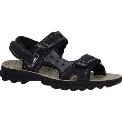 Czarne sandały na rzepy Casu M03. Czarne sandały męskie Casu, na rzepy. Za 49,99 zł.