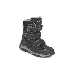 Śniegowce Dziecko Kangaroos  GORD V RTX. Czarne buty zimowe chłopięce KangaROOS. Za 233,10 zł.