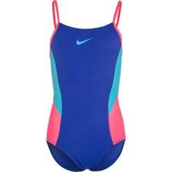 Stroje jednoczęściowe dziewczęce: Nike Performance COLORBLOCK VBACK TANK Kostium kąpielowy blue