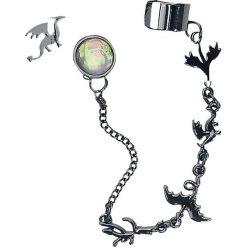 Biżuteria i zegarki: Blackheart Flying Dragons Kolczyki - Earpin standard