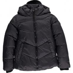 Kurtka zimowa w kolorze czarnym. Czarne kurtki chłopięce zimowe marki CMP Kids, z polaru. W wyprzedaży za 175,95 zł.