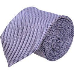 Krawaty męskie: krawat platinum fiolet classic 208