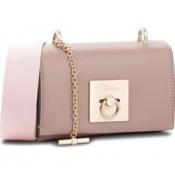 Torebka CALVIN KLEIN - Ck Lock Small Flap C K60K604890 007. Brązowe torebki klasyczne damskie Calvin Klein, ze skóry ekologicznej, zdobione. Za 599,00 zł.