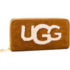 Portfele damskie: Duży Portfel Damski UGG - W Honey Zip Arnd Wallet Sheep 1093571  Che