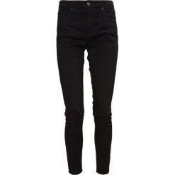 Topshop Jeans Skinny Fit black. Czarne jeansy damskie marki Topshop, z bawełny. Za 229,00 zł.
