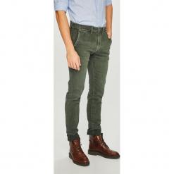 Pepe Jeans - Spodnie James. Szare chinosy męskie Pepe Jeans, z bawełny. Za 379,90 zł.