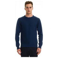 Galvanni Sweter Męski Truiden L Ciemny Niebieski. Niebieskie swetry klasyczne męskie GALVANNI, l, z wełny. W wyprzedaży za 279,00 zł.