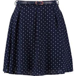 Minispódniczki: Yumi ANCHOR Spódnica trapezowa dark blue