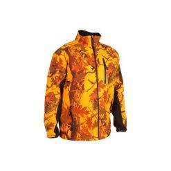 Odzież męska: Kurtka myśliwska zimowa męska SIBIR 500 CAMO FLUO