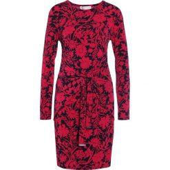 MICHAEL Michael Kors GALORE TWIST Sukienka z dżerseju rasberry. Czerwone sukienki z falbanami marki MICHAEL Michael Kors, xxs, z dżerseju. W wyprzedaży za 614,25 zł.