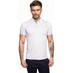Koszulka polo luna biały. Czerwone koszulki polo marki Recman, m, z długim rękawem. Za 89,99 zł.
