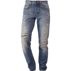 BOSS CASUAL TABER Jeansy Slim Fit bright blue. Niebieskie jeansy męskie relaxed fit BOSS Casual, z bawełny. Za 749,00 zł.