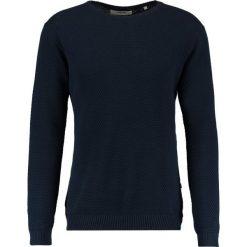 Swetry klasyczne męskie: Solid GYDEN Sweter navy