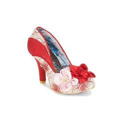 Czółenka Irregular Choice  PEACH MELBA. Czerwone buty ślubne damskie Irregular Choice. Za 349,30 zł.