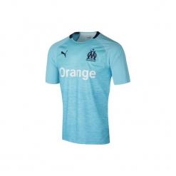 Koszulka krótki rękaw do piłki nożnej OM. Niebieskie t-shirty damskie Puma, m. Za 399,99 zł.