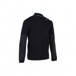 Bluza Tenis Soft 500 Męska. Czerwone bluzy męskie marki KALENJI, m, z elastanu, z długim rękawem, długie. Za 69,99 zł.