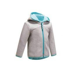 Bluza 540 Gym. Szare bluzy chłopięce marki DOMYOS, z elastanu, z kapturem. W wyprzedaży za 34,99 zł.