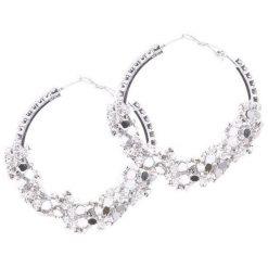 Biżuteria i zegarki damskie: Srebrne Kolczyki Vivacity