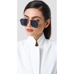NA-KD Trend Kwadratowe okulary przeciwsłoneczne - Black - 2