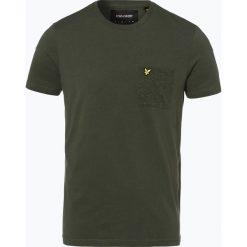 T-shirty męskie: Lyle & Scott – T-shirt męski, zielony