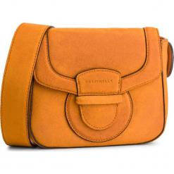 Torebka COCCINELLE - DS1 Vega Suede E1 DS1 55 01 01 Flash Orange R12. Brązowe listonoszki damskie Coccinelle, ze skóry, bez dodatków. Za 1099,90 zł.