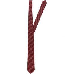 Krawaty męskie: Armani Collezioni Krawat burgundy