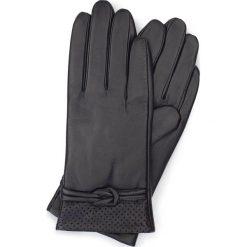 Rękawiczki damskie 39-6-569-1. Czarne rękawiczki damskie Wittchen, z polaru. Za 99,00 zł.