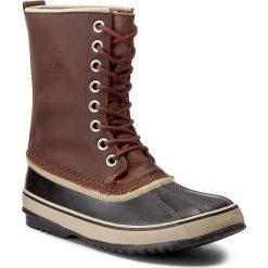 Śniegowce SOREL - 1964 Premium Ltr NL1718 Cappuccino/Oxford Tan 206. Brązowe buty zimowe damskie Sorel, z gumy. W wyprzedaży za 379,00 zł.