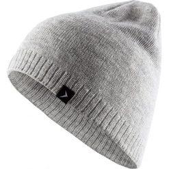 Czapka damska CAD600 - chłodny jasny szary melanż - Outhorn. Szare czapki zimowe damskie Outhorn, na jesień, melanż. Za 19,99 zł.