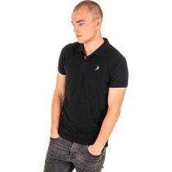 Koszulki polo: Outhorn Koszulka polo męska HOL18-TSM610 czarna r. XXL