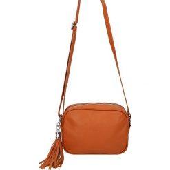 """Torebki klasyczne damskie: Skórzana torebka """"Auteuil"""" w kolorze karmelowym – 20 x 6 x 15 cm"""
