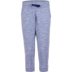 Bryczesy damskie: Spodnie dresowe w kolorze niebieskim