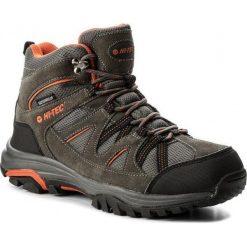 Buty trekkingowe męskie: Hi-tec Buty Męskie Raposo Mid Wp Dark Grey/Orange/Light Grey r. 45 (AVSAW17-HT-01)