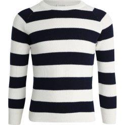 Carrement Beau Sweter ecru marine. Białe swetry chłopięce Carrement Beau, z bawełny. Za 219,00 zł.