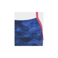 Stroje jednoczęściowe dziewczęce: kostium kąpielowy jednoczęściowy Dziecko adidas  Strój kąpielowy Allover Print