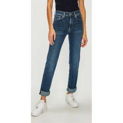 Levi's - Jeansy. Brązowe jeansy damskie slim Levi's®, z podwyższonym stanem. Za 399,90 zł.
