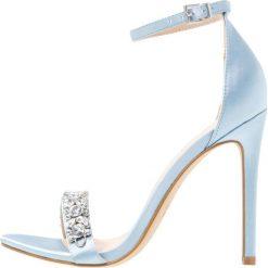 Sandały damskie: New Look TWINS Sandały na obcasie light blue