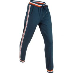 Spodnie dresowe damskie: Spodnie dresowe, długie bonprix ciemnoniebieski melanż