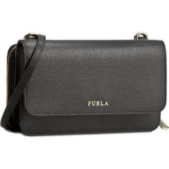 Torebka FURLA - Riva 801551 E EL40 B30 Onyx. Czarne listonoszki damskie Furla, ze skóry. Za 879,00 zł.