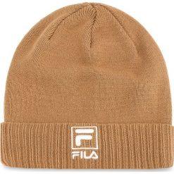 Czapka FILA - Slouchy F-Box Beanie 686013 Camel J87. Brązowe czapki zimowe damskie Fila, z bawełny. Za 109,00 zł.