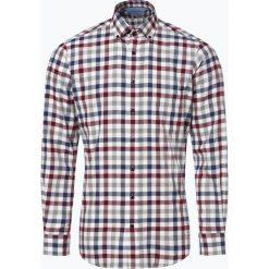 Andrew James - Koszula męska, beżowy. Brązowe koszule męskie na spinki marki FORCLAZ, m, z materiału, z długim rękawem. Za 129,95 zł.
