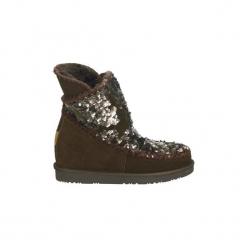 Śniegowce Gioseppo  46460. Brązowe buty zimowe damskie Gioseppo. Za 351,56 zł.
