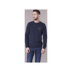 Swetry Jack   Jones  JORTRAST. Czarne swetry klasyczne męskie marki Jack & Jones, l, z bawełny, z okrągłym kołnierzem. Za 164,30 zł.