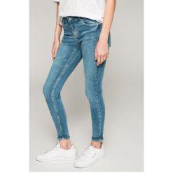 Medicine - Jeansy Basic. Niebieskie jeansy damskie rurki marki MEDICINE, z bawełny. W wyprzedaży za 59,90 zł.
