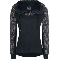 Black Premium by EMP Freaking Out Loud Bluza z kapturem rozpinana damska czarny. Czarne bluzy rozpinane damskie Black Premium by EMP, xl, z nadrukiem, z kapturem. Za 149,90 zł.