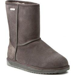 Buty EMU AUSTRALIA - Paterson Lo W10771 Charcoal 2016. Szare buty zimowe damskie marki EMU Australia, ze skóry, na niskim obcasie. W wyprzedaży za 449,00 zł.