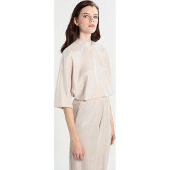 Bluzki asymetryczne: Noisy May NMMISSY Bluzka z długim rękawem cream tan